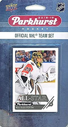 331f7cec6 2018 19 Upper Deck Parkhurst NHL Hockey EXCLUSIVE Limited Edition WEST ALL- STAR Factory