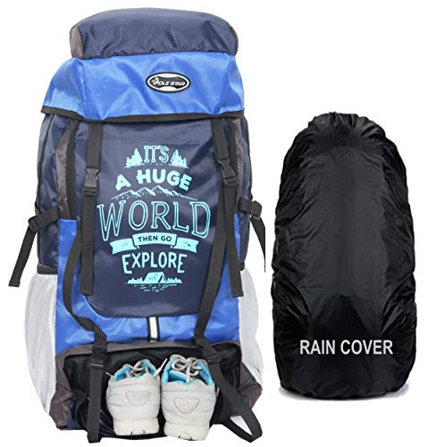 POLESTAR XPLORE 55 ltrs with Rain Cover Rucksack Hiking Backpack Price & Reviews
