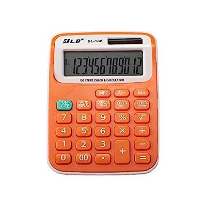 Amazon. Com: basic calculator, bestwya 12-digit dual power.