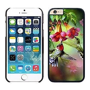 NEW DIY Unique Designed Case For iphone 6 plus hummingbird iphone 6 plus 5.5 TPU inch Phone Case 012