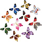 iDMSON Magic Flying Butterfly Gift Cards - Wind Up Butterfly in the Book Fairy Toy Great Surprise Wedding (10PCS)