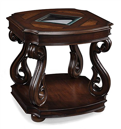 - Magnussen T1648-03 Harcourt Cherry Finish Wood Rectangular End Table