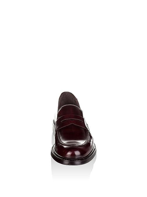 CASTELLANISIMOS Mocasines Clásicos Burdeos EU 45: Amazon.es: Zapatos y complementos