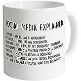 Funny Coffee Mug Social Media Mug 11 OZ