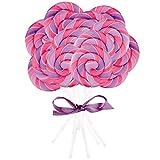 BirthdayExpress Pink and Purple Swirl Lollipop (16)