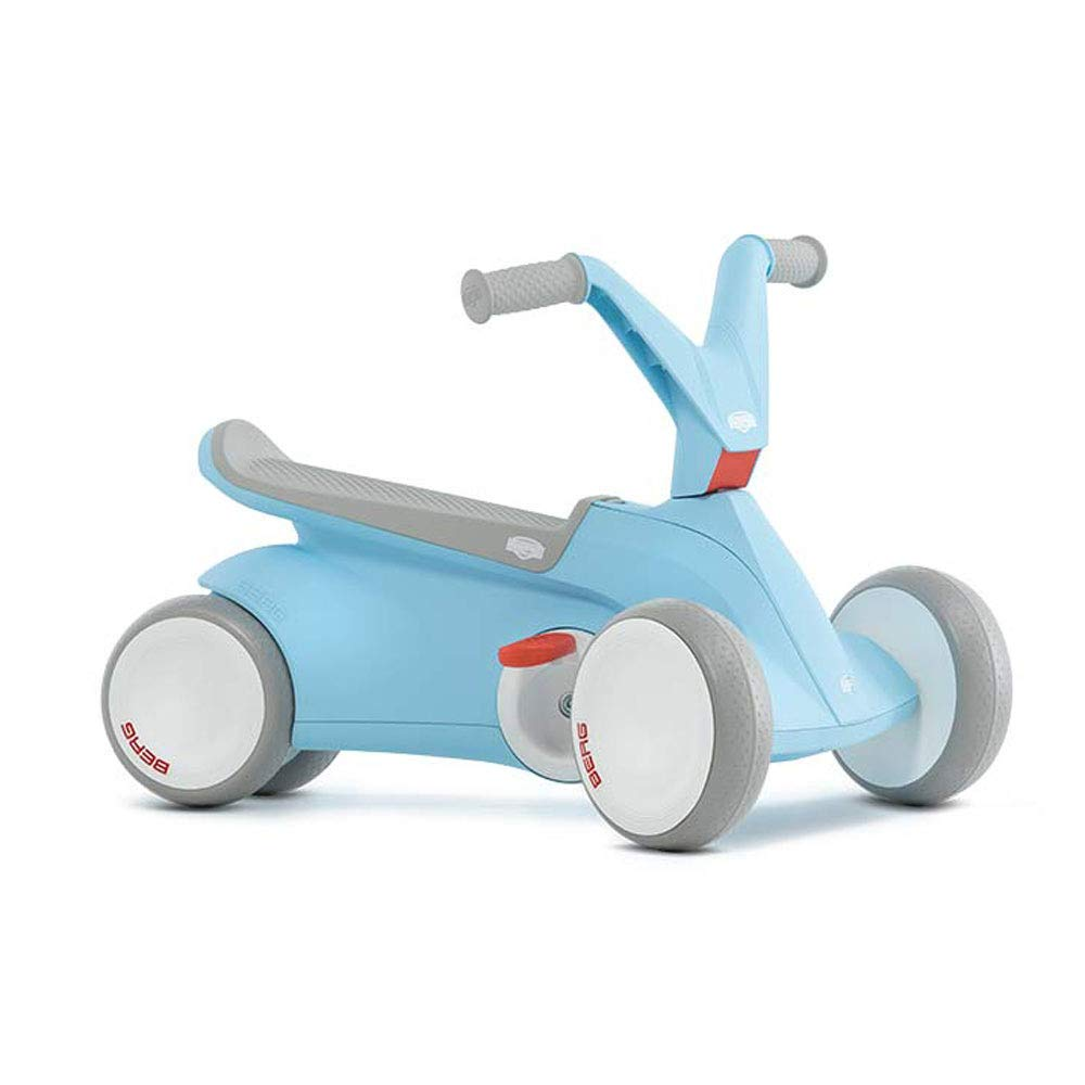 BBERG GO2 2 in 1 Push and Pedal Go Kart (Blue)