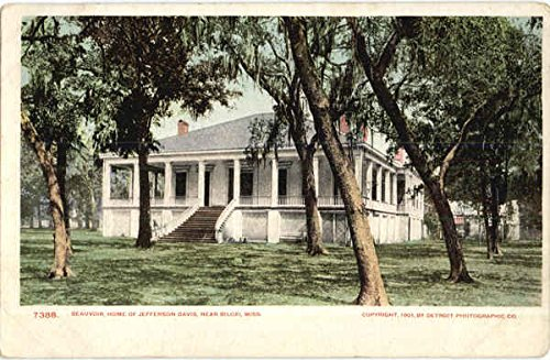Beauvoir Biloxi, Mississippi Original Vintage Postcard (Postcard Mississippi)