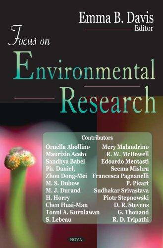 Focus on Environmental Research pdf