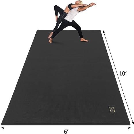 Amazon Com Gxmmat Extra Large Yoga Mat 10 X6 X7mm Thick Workout