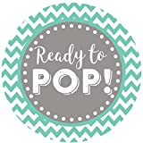 popcorn boxes mint - 2 Inch Ready to Pop Stickers Grey Set of 60 (Mint)