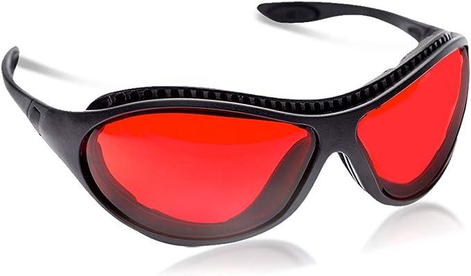 Sleep Savior ™ Ultra gafas nocturnas rojas; bloquean luz molesta que bloqueadoras luz azul para hombres mujeres; aumentan melatonina manera natural ayudan dormir mejor; perfectas el desajuste horario: Amazon.es: Ropa y accesorios