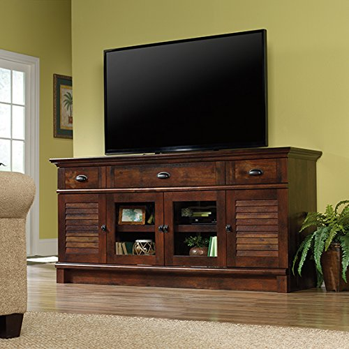 Sauder Harbor View TV Stand in Curado Cherry (Harbor View Tv Stand)