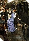 Canvas Art Gallery Wrap 'Street Scene' by James Tissot offers