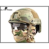 Military Airsoft Paintball Helmet Combat Tactical FAST Helmet MH Type AT/FG
