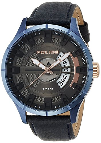 POLICE watch MALLET 14678JSBL-61 19000 MALLET Men's Watches