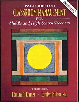 school and classroom management copy The comprehensive classroom management plan  the first days of school lesson plans  correct any errors in the first copy of each entry.