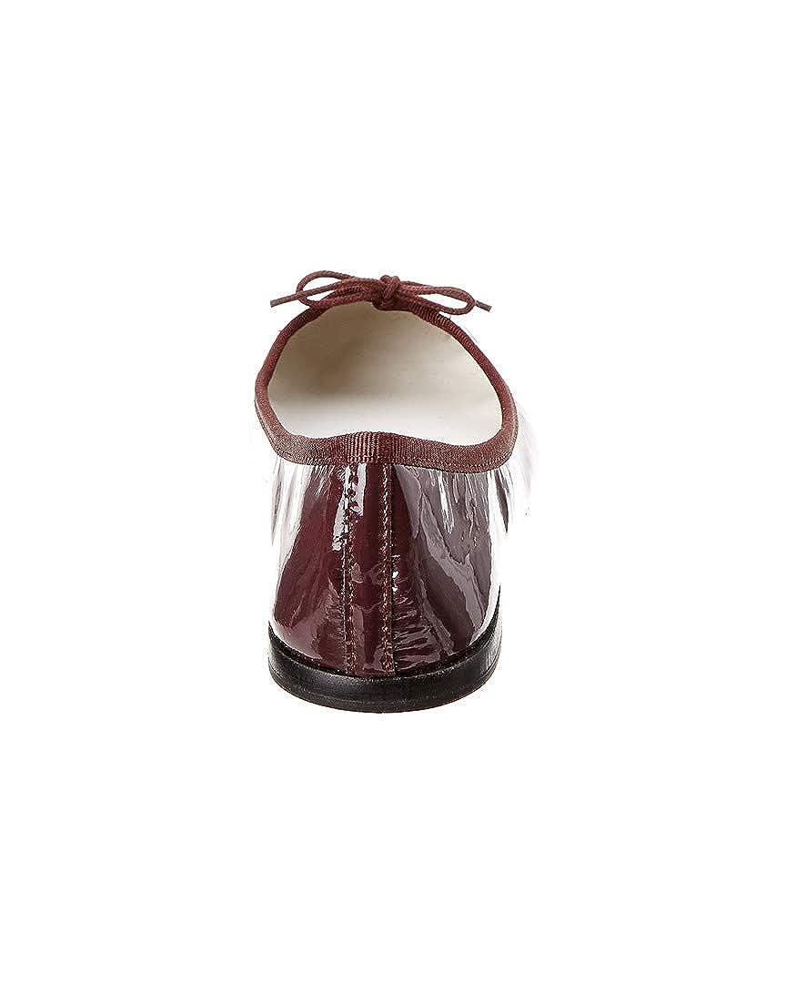 36 Purple Repetto Cendrillon Patent Ballerina Flat