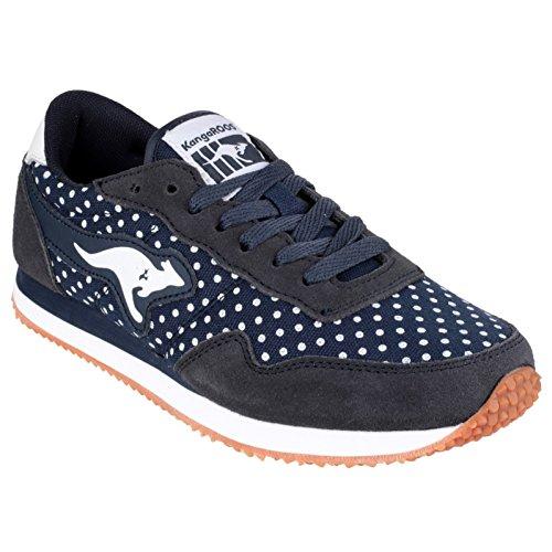 KangaROOS Invader Dots, Damen Sneakers Weiß