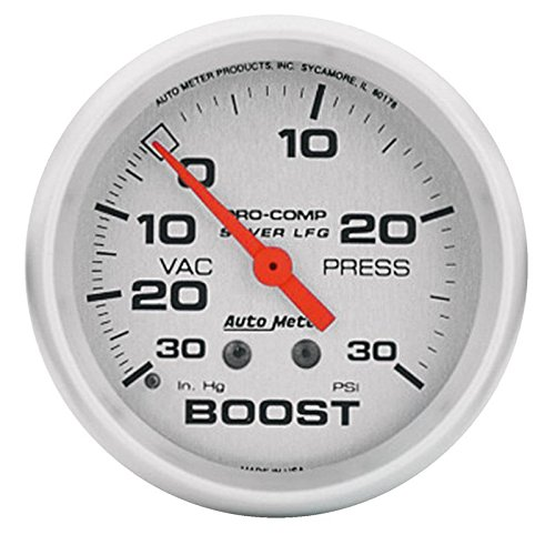 (Autometer 4603 Ultra Lite Series Boost Gauges)