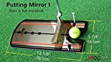 A99 Golf Putting Mirror Training Alignment New Aid Practice Trainer Portable with a Bag