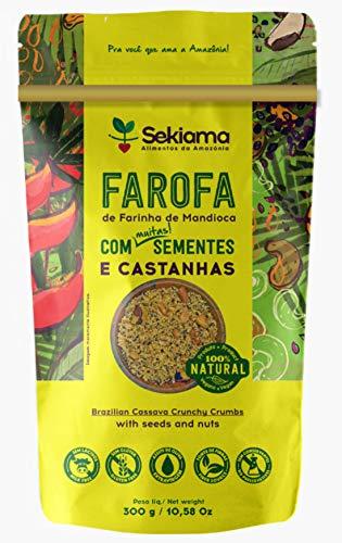 Farofa Funcional Sekiama Farofa:com sementes e castanhas Sekiama
