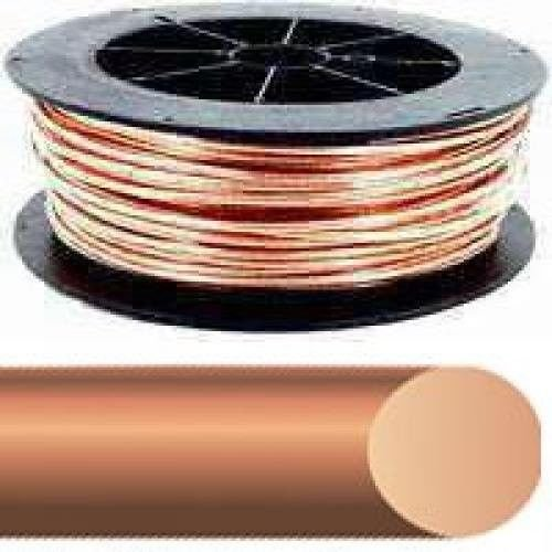 New Southwire Usa Made 6 Awg #6 X 315` Roll Bare Copper Ground Wire 7153216