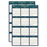 HOD390 - House Of Doolittle 4 Seasons Reversible Business/Academic Wall Calendar by House