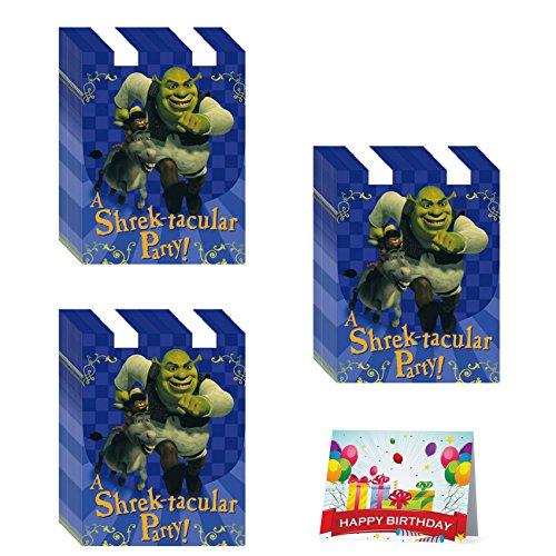 Shrek Birthday Party Invitations Bundle Pack of 24