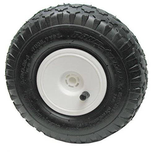 """Hand Axle - ASC 9-5/8"""" Pneumatic Tire with 1/2"""