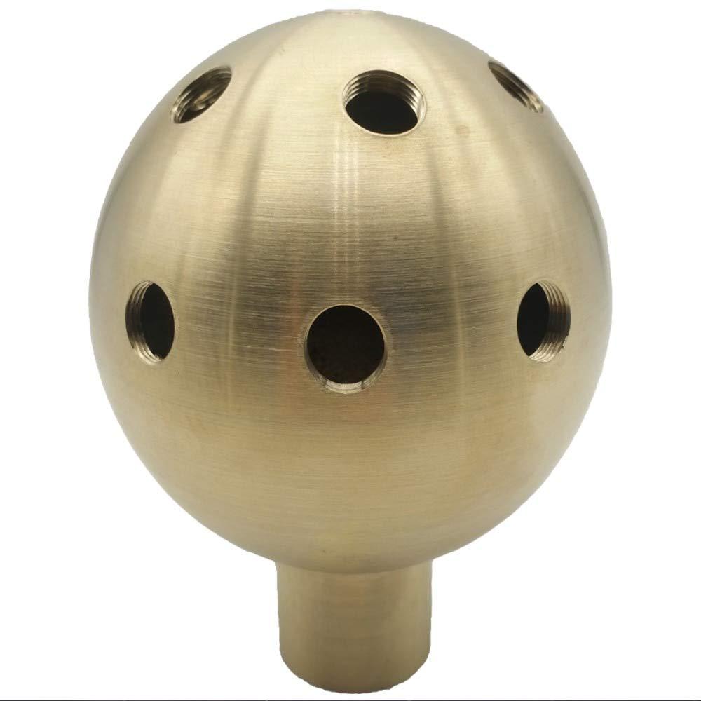 FINCOS DN15 DN20 DN40 DN50 DN25 Bronze Foam Nozzle, Dandelion Fountain Nozzle, Swimming Pool Nozzle - (Color: 1 inch DN25)