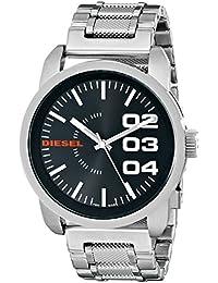 Men's DZ1370 Stainless Steel Not-So-Basic Basic Stainless Steel Watch