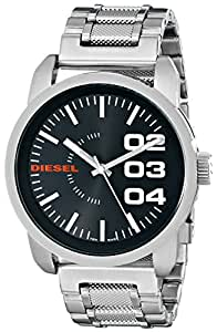 Diesel Men's DZ1370 Stainless Steel Not-So-Basic Basic Stainless Steel Watch