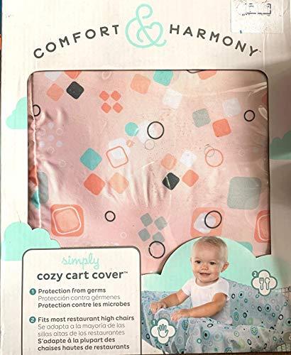 Comfort & Harmony Cozy Stroller Shopping Cart Cover Peach (Comfort Harmony Cozy Cart Cover)