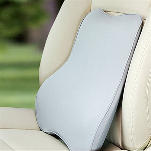 KEEPING Memory Foam Auto Car Seat Cushion Lumbar Pillow B...
