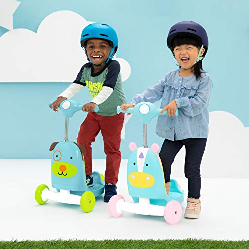 51vUAREthqL - Skip Hop Kids 3-in-1 Baby Activity Walker & Ride On Scooter Wagon Toy, Dog
