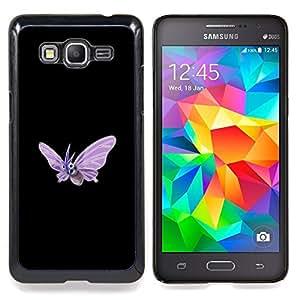 "Qstar Arte & diseño plástico duro Fundas Cover Cubre Hard Case Cover para Samsung Galaxy Grand Prime G530H / DS (Venomoth P0kemon"")"