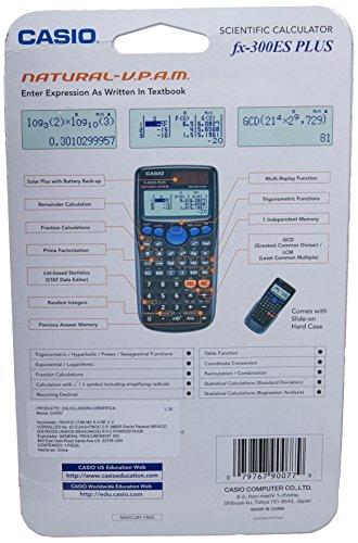 Casio Inc. FX-300ES Plus Engineering/Scientific Calculator