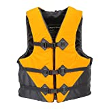 docooler Professional Adult Safety Life Jacket Survival Vest Swimming Boating Drifting with Emergency Whistle