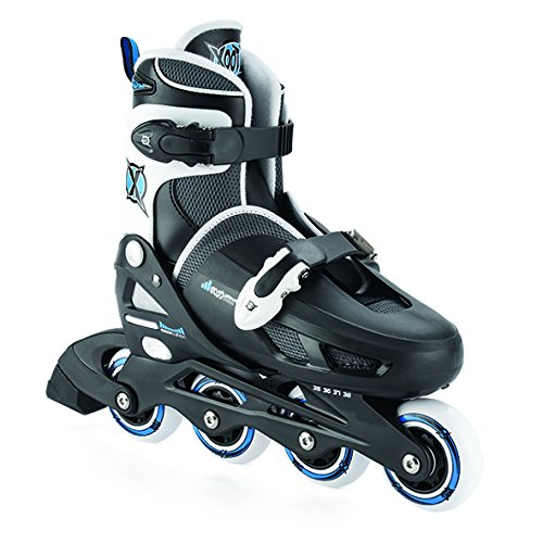 凍る排出織機Xootz Boy 's Inline Skates調節可能な、パッド入りローラーブレード