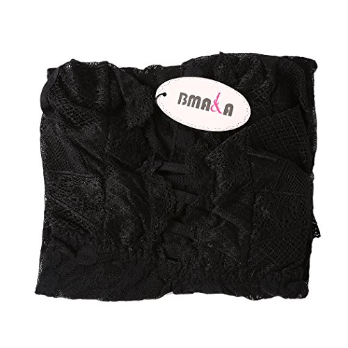 ca5071e4d3 chic BMAKA Pijama Lencería Picardías de Encaje y Tanga a Juego para Mujer
