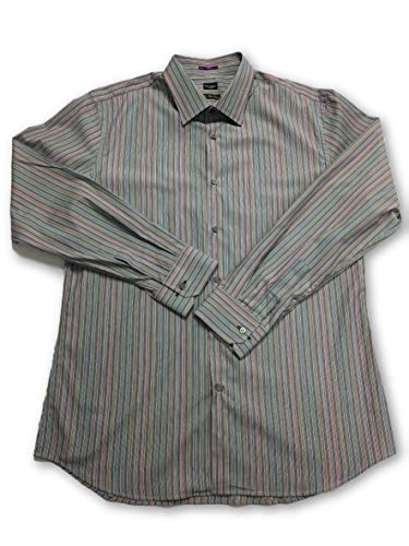 Paul Shirt 18 Coloured Size Stripe Smith Narrow Multi Vwfuqu Cotton Etq8wx6qA