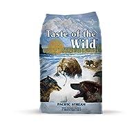 Sabor a la Gran Receta de Carne Real de Gran Proteína Libre de Granos Silvestres Comida para perros de primera calidad de Pacific Stream