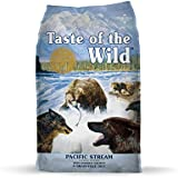 Taste of the Wild Grain Free Premium Dry Dog Food Pacific Stream Adult - Salmon