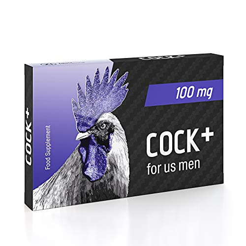 Cock+ Natural Mens Sexual Performance Supplement – Clinically Proven,...