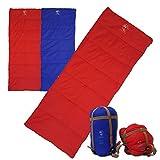 Outdoor Vitals OV-Light 40 Degree 3 Season Rectangular Sleeping Bag, Lightweight, Backpacking, Ultra Compactable, Hiking, Camping,