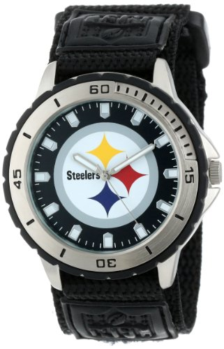 "Game Time Men's NFL-VET-PIT ""Veteran"" Watch - Pittsburgh Steelers"