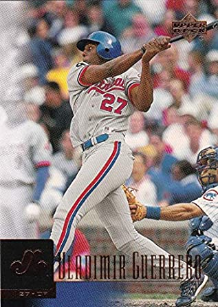 46b53758236 Amazon.com  2001 Upper Deck   Prospect Premieres Montreal Expos Team Set  with Vladimir Guerrero   Fernando Tatis - 16 Cards  Collectibles   Fine Art