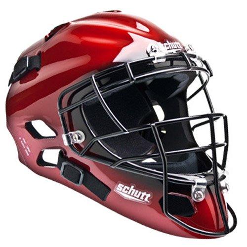 Schutt Sports Hockey Style Catcher's Mask, Kandy Scarlet, One Size Fits Most