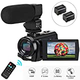 Best Hd Camcorder Under 200s - Video Camera Camcorder,Digital Camera Recorder with Microphone 1080P Review