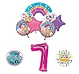 Mayflower Products JoJo Siwa 7th Birthday Balloon Bouquet Decorations and Party Supplies